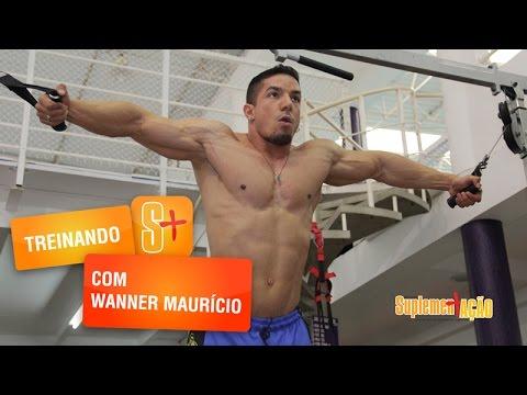Treino de peitoral com Wanner Maurício