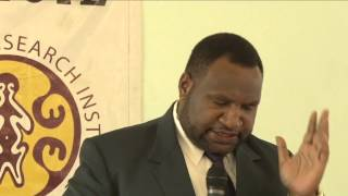 PNG Budget Forum 2013: Hon James Marape, PNG Minister for Finance