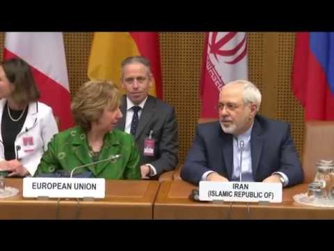 EU HR Ashton at the E3+3 negotiations with Iran: Roundtable
