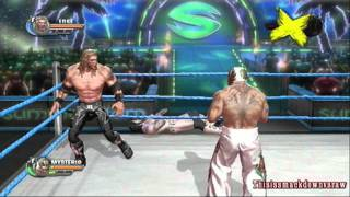WWE All Stars Gameplay Randy Orton's Path Of Champions