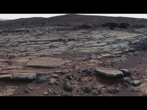 Ancient lake on Mars evidence of life?
