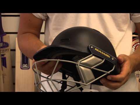 Masuri Vision Series (VS) Club JUNIOR Cricket Batting Helmet (Navy)