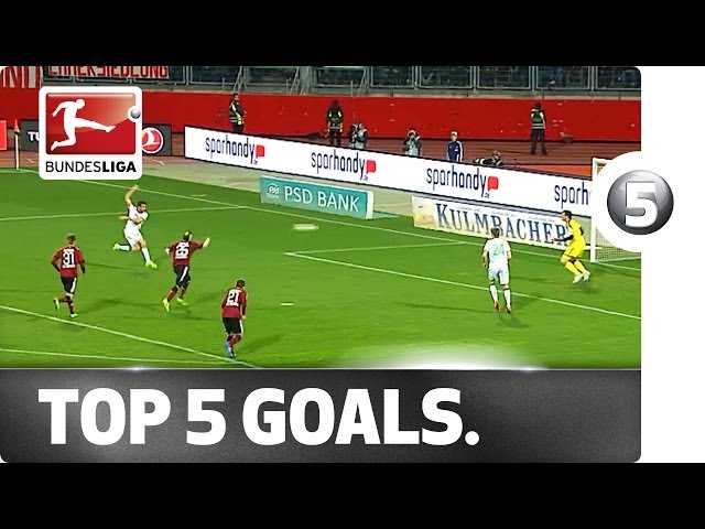 Top 5 Goals - Altintop, Kehl, di Santo and more with brilliant strikes