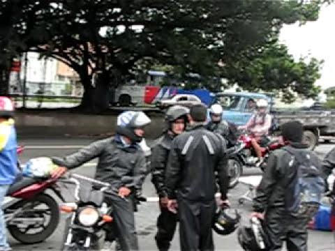 Acidente Moto Carreta resgate Grave!