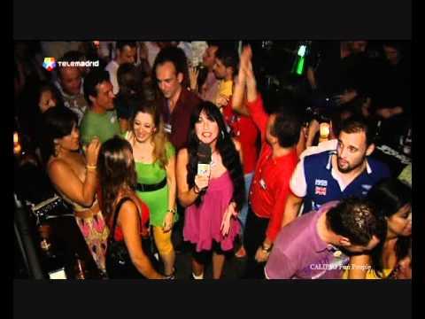 Telemadrid cubre la fiesta single del sem foro de calipso for Calipso singles