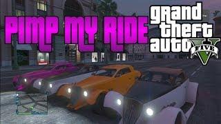 GTA V Pimp My Ride #34 HotKnife (Hot Rod) Pimping