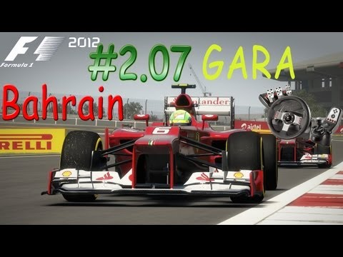 F1 2012 Gameplay ITA Logitech G27 Carriera2 #07 GARA Bahrain