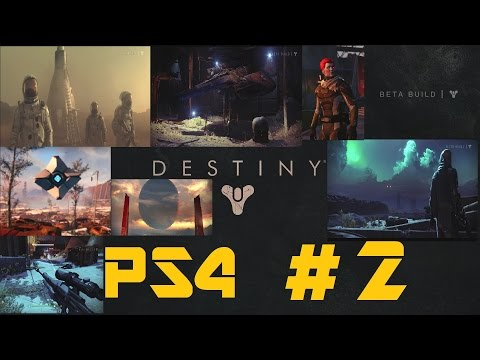 DESTINY BETA PS4 1080P Playthrough Part 2: THE DIVIDE & DOCK 13