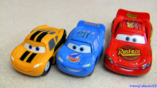 Dinoco Chick Hicks Vs Lightning McQueen Mini Adventures 2