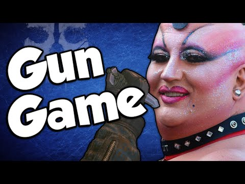 FAGGOT KNIFERS! (Gun Game Reactions - Call of Duty: Ghosts)