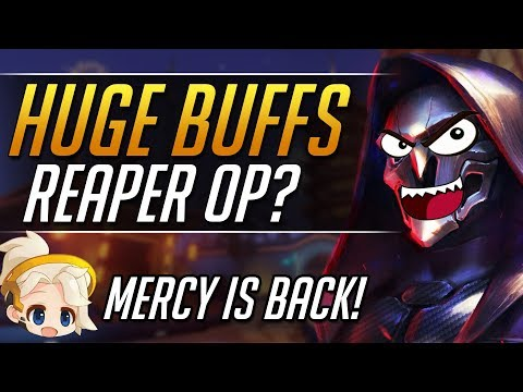 NEW PTR PATCH 1.3 - Big BUFFS! Patch Analysis | Overwatch Guide