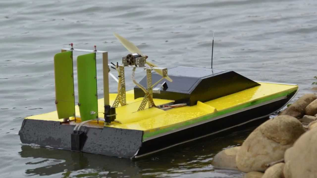 Rc+Airboat+Hull+Plans Electric Airboat RC - YouTube