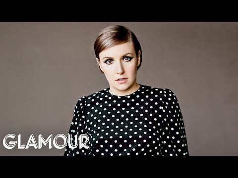Watch Lena Dunham Deconstruct Her Tweets -- Glamour Magazine Cover Shoot