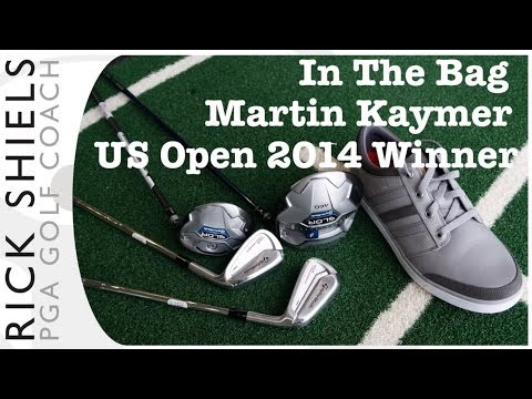 US OPEN 2014 MARTIN KAYMER IN THE BAG