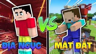 NOOB và SHIN CHAN Đã Chia Cách Nhau Trong Minecraft !!!