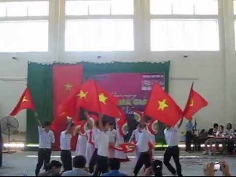 Múa Việt Nam Gấm Hoa | 12A5 (2011 - 2012) | THPT Tân An