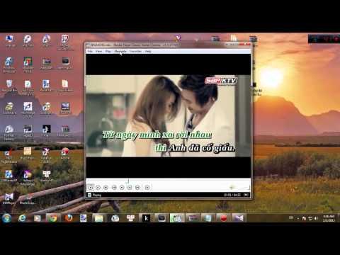 Hướng dẫn,cài đặt,tách lời karaoke bằng KMP,Dowload karaoke YouTube   YouTube