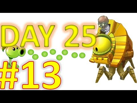 Plant vs Zombies 2: Ancient Egypt day 25 #challenge 13 gameplay (android and ios)