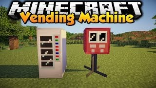 Minecraft - Mod Showcase - Vending Machine