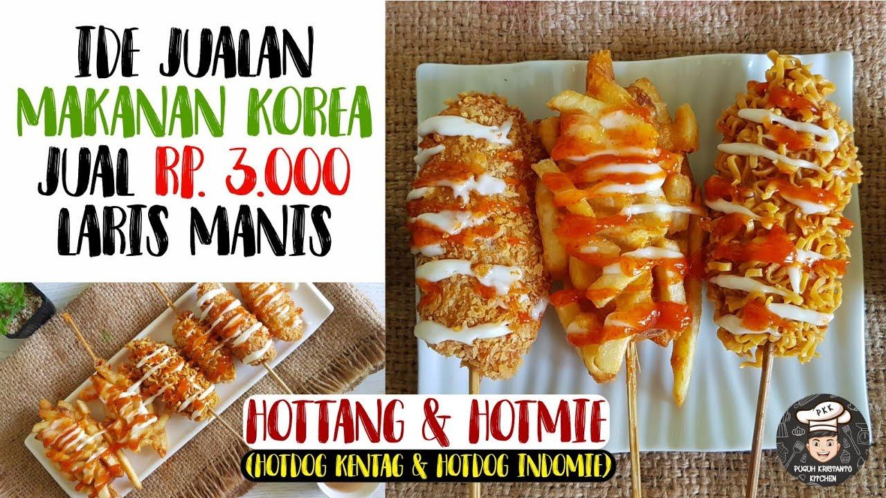Resep Ala Korea Untuk Jualan Hottang Hotmie Hotdog