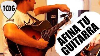 Afinar guitarra de oído