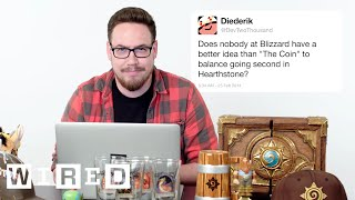 Blizzard's Ben Brode Answers Hearthstone Questions From Twitter | Tech Support | WIRED