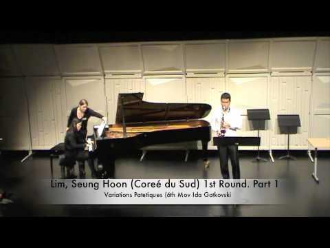 Lim, Seung Hoon (Coreé du Sud) 1st Round. Part 1