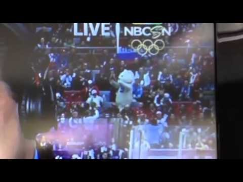 Dancing Bear at Sochi Olympics