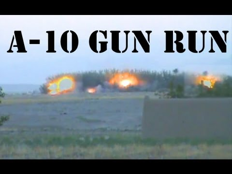 A10 WARTHOG GUNRUN DESTROYS TALIBAN IN TREELINE - Youtube ...