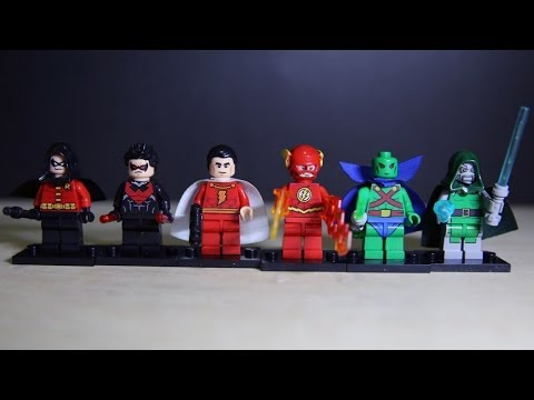 Hình ảnh trong video Lego DC Vs Marvel Superheroes DeCool Wave 3