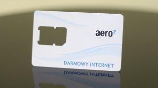 Darmowy Internet Aero2 Prezentacja, Test, Szybkość