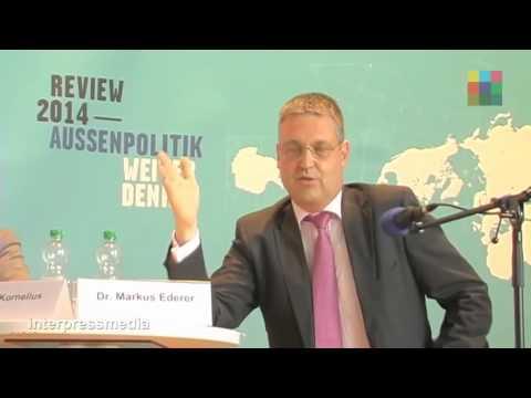 Diskussionsveranstaltung mit Staatssekretär Dr. Markus Ederer