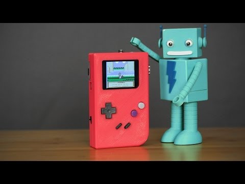 DIY Gameboy - #3DThursday