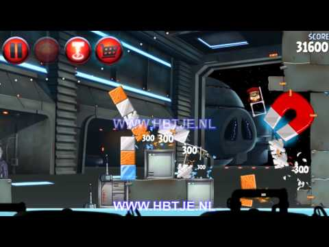 Angry Birds Star Wars 2 Naboo Invasion p1-1 3 stars
