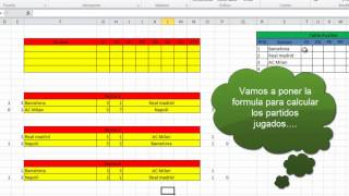 Fase De Grupos Codigos Excel Parte2