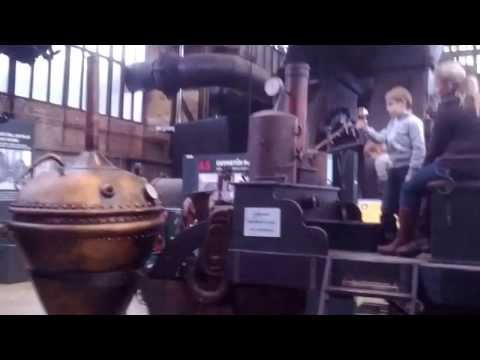 Czech Republic, Ostrava's Steel Museum 11/2013. Чехия, Металургический Комбинат-Музей