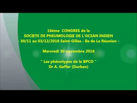 Les phénotypes de la BPCO. Dr A Gaffar Durban