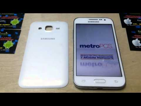 Unlock Samsung Core Prime SM-G360T1 Metro PCS