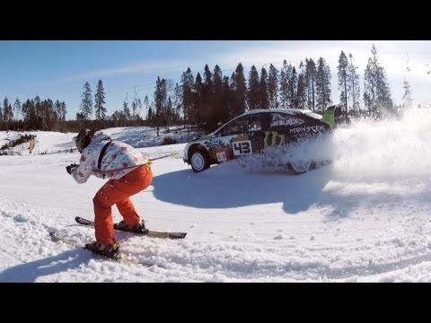 Кен Блок в России, видео от GoPro
