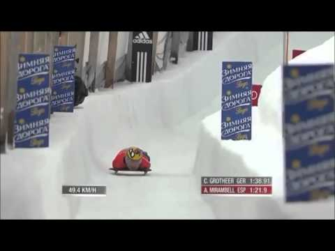 Skeleton Saint Moritz 2014 Olympic dream