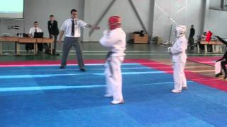 Latvia Josui karate 2014 Championship  Final III