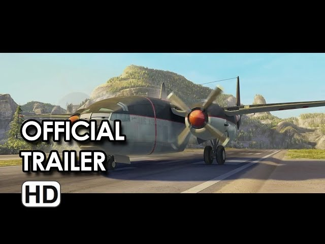 Planes: Fire & Rescue Official Trailer (2014) HD