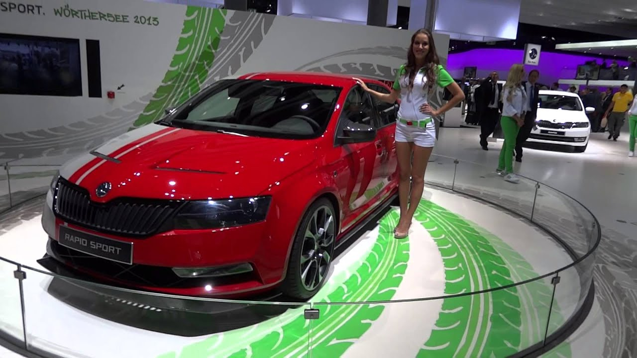 skoda rapid sport 2013 frankfurt motor show. Black Bedroom Furniture Sets. Home Design Ideas