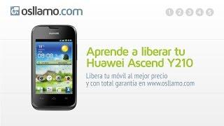 Liberar Tu Huawei Ascend Y210