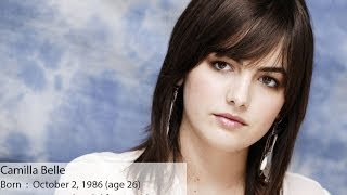 Actress Camilla Belle Movies List