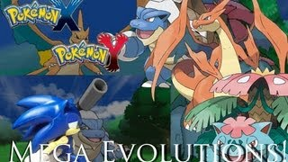 Sonic's Reaction To Pokemon X And Y: Kanto Starters' Mega