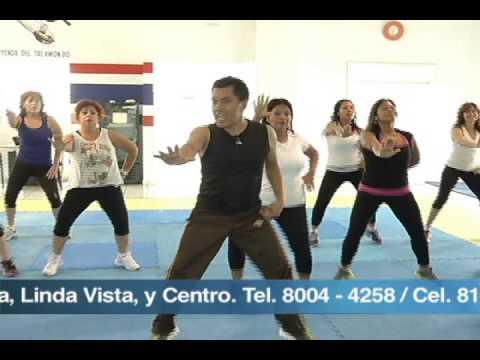 bailoterapia Javier Vazquez México