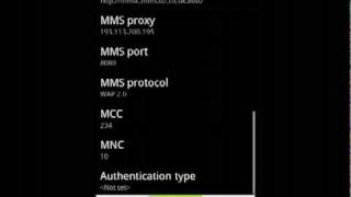 HTC Desire Generic Network Failure Fix MMS Not Sending Or