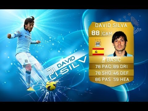BEST CAM IN FIFA 14 - DAVID SILVA - Master Player Review - FIFA 14 Ultimate Team