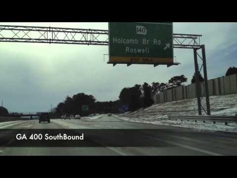Atlanta Storm 2014 - Day 2 - GA 400